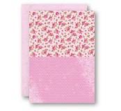 Potištěný oboustranný papír A4 Roses