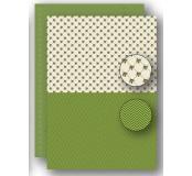 Potištěný oboustranný papír A4 Green Holly