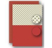 Potištěný oboustranný papír A4 Red Holly