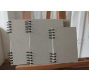 Kroužkový blok Scrapbook A6, výška
