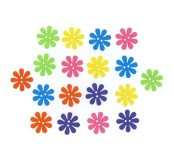 Dekorační knoflíčky Retro flowers
