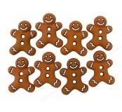 Dekorační knoflíčky Iced Cookies