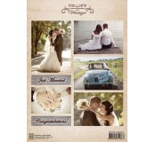 Dekorační papír Wedding