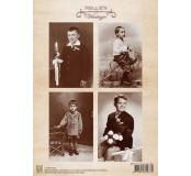 Dekorační papír Vintage Communion Boy