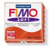 Fimo soft modelovací hmota 56 g - červená