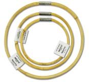 Kruh z ratanu pr.12 cm, přírodní lakovaný