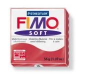 Fimo soft modelovací hmota 56 g - třešňově červená