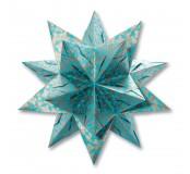 Origami papíry na hvězdu