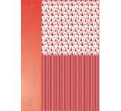Potištěný oboustranný papír A4 Christmas Red Tree 2