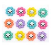 Dekorační knoflíčky Happy Little Flowers