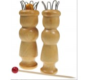 Dřevěná pomůcka pro pletení dutinek