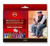 Akvarelové pastely umělecké, 24 ks