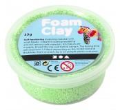 Modelovací hmota Foam Clay - 35 g, kuličková, neonově zelená