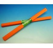Papír krepový - oranžový