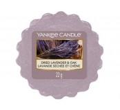 Vosk Yankee Candle - Dried Lavander, Oak
