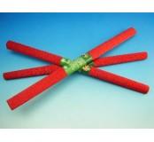 Papír krepový - metalizovaný červený