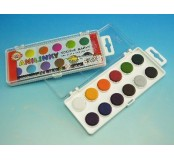 Vodové barvy brilantní anilinky - 12 barev
