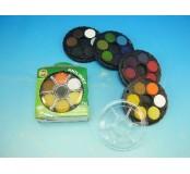 Vodové barvy anilinky, 24 barev
