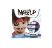Barvy na obličej Carioca Mask Up, téma karneval