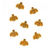 Dekorační knoflíčky - Large Bees