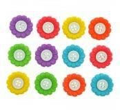 Dekorační knoflíčky - Sunflowers