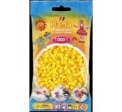 Žluté korálky 1000 ks