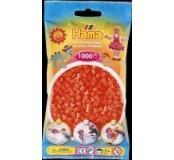 Oranžové korálky 1000 ks