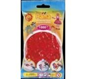 Červené korálky 1000 ks