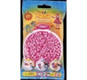 Pastelově růžové korálky 1000 ks
