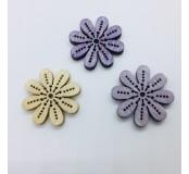 Dekorace - kytičky, mix barev, 5 ks