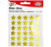 Samolepicí hvězdičky, zlaté, 5 archů