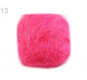 Sisalové vlákno 50g, růžová