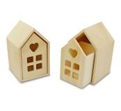 Dřevěný domeček, 1 ks