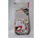 Folie na porcelán Color Dekor, zebra/leopard