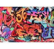 Dekorační látka - úplet, grafity
