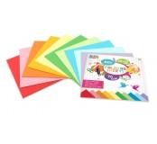 Sada barevných papírů 20x20cm