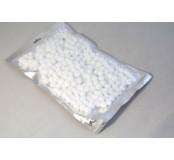 Pompony, bambulky - bílá, 2 cm, 300 ks